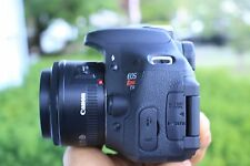 MINT Canon EOS Rebel T3i / 600D 18.0 MP SLR With 50mm and 18-55mm STM LENS