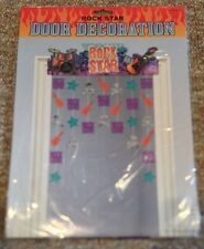 Rock Star Door Decoration 1ct Rocker Party Decoration Supplies - NEW Birthday