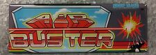 Air Buster Arcade Game Marquee Fridge Magnet