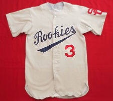 VINTAGE BASEBALL JERSEY SHIRT 70's Rookies #3 SD STITCHED PATCHES Game Athletic