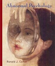 Abnormal Psychology, Ronald J. Comer, Acceptable Book