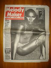 MELODY MAKER 1980 AUG 23 GRACE JONES PAUL SIMON HENDRIX