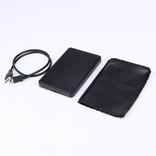 USB 2.0 Hard Drive External Enclosure 2.5Inch SATA HDD Mobile Disk Box Case New