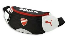 New DUCATI PUMA Black Waist Bag Pouch Sport Wallet Organizer Shoulder Fanny Pack