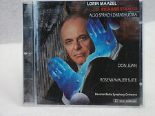CD Lorin Maazel Conducts - Strauss - The Bavarian Radio Symphony Orchestra