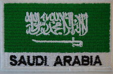Ecusson brodé patch thermocollant Drapeau ARABIE SAOUDITE - SAUDI ARABICA