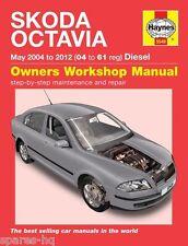 Haynes Car Workshop Repair Manual Skoda Octavia Diesel 04 - 12