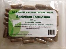 Sceletium Tortuosum (Kanna) 500mg X 60 capsules - natural anti-depressant