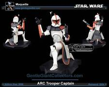STAR WARS ARC CLONE TROOPER RED  figure  Statue figure Gentle giant  captain