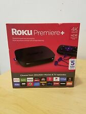 NEW Roku Premiere+ Plus 4K HDR Streaming Media Player 4630RW