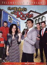 Que Pobres Tan Ricos (DVD, 2014, 4-Disc Set) EXCELLENT CONDITION SHIPS NEXT DAY
