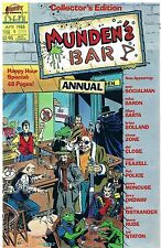 Borgogna 's Bar ANNUAL no. 1/1988 Brian Bolland Mike Baron Steve Rude Jerry Ordway