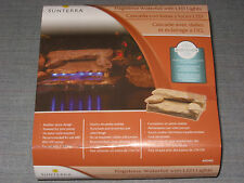 NEW SUNTERRA POND FLAGSTONE WATERFALL WITH LED LIGHTS POWERED BY YOUR PUMP