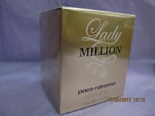 LADY MILLION PACO RABANNE 2.7 FL oz / 80 ML EDP Spray Sealed Box