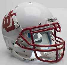 UTAH UTES Schutt AiR XP AUTHENTIC Football Helmet (WHITE UU)
