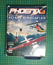 Phoenix Flight Simulator V3 Boxed, Decoder Lead, Disc, Instructions Orig Receipt