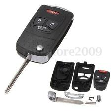 4 Button Uncut FoldingFlip Remote Key Case Shell For Dodge Chrysler Caliber Jeep