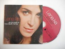LENA KA : JE GRAVERAI NOS DEUX NOMS [ CD SINGLE ] ~ PORT GRATUIT !