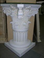 Beistelltisch Telefontisch Steinmöbel Römisch Griechisch Mediterran Blumen Säule