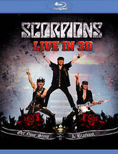 SCORPIONS Live In 3D Blu-Ray Disc 2011 Legacy Records NEW SEALED 5.1 Surround