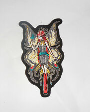 Shanna Trumbly Swallow Tail Fairy Embroidered iron-on Patch
