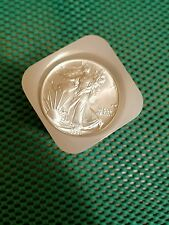 1991 AMERICAN SILVER EAGLE ROLL- 20 COIN TUBE UNCIRCULATED