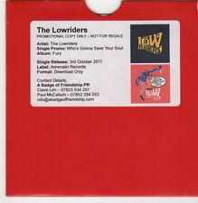 (FF667) The Lowriders, Who's Gonna Save Your Soul - 2011 DJ CD