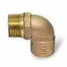 "Plumbing Copper Fitting Male Elbow 90˚ 3/4"" (10)"