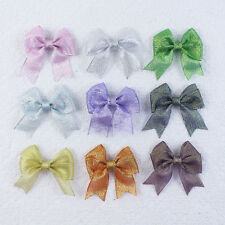 Handmade Fashion 9pcs 3in Baby Girl grosgrain butterfly Hair bows clips 2813-K