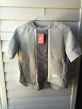 Nike Women's Tech Fleece Splatter Sweatshirt Style Tee T Shirt 803022 Sz M NWT