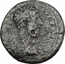 COMMODUS 177AD Pautalia Thrace HYGEIA Asclepius Daughter Roman Coin i45427