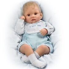 So Truly Real Touch-Activated Realistic Baby Doll: Kyle Kisses Doll Ashton Drake