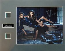 Vampire Diaries Ver5 Signed Photo Film Cell Presentation
