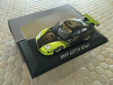 PORSCHE OFFICIAL PATRICK LONG 911 996 GT3 CUP RACECAR 1:43 MODEL MINICHAMPS NIB