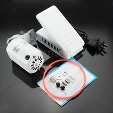 1.0 Amps Home Sewing Machine Motor & Foot Pedal Controller White Aluminum Alloy
