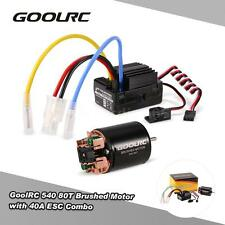 GoolRC 540 80T Brushed Motor with 40A ESC Combo for 1/10 Axial SCX10 RC Car D4G4