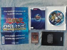 YU-GI-OH! 5D'S MASTER OF THE CARDS - NINTENDO WII e WIIU U ITALIANO con 3 CARTE