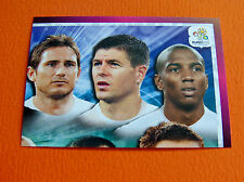 487 EQUIPE TEAM PART 2 ENGLAND  FOOTBALL PANINI UEFA EURO 2012