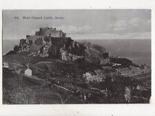 Mont Orgueil Castle Jersey 1905 Postcard Albert Smith 274b