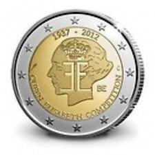 Belgie 2012  2 euro com. UNC   Koningin Elisabethwedstrijd    UNC uit de rol !!!