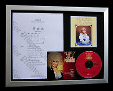DOLLY PARTON Jolene GALLERY QUALITY CD FRAMED DISPLAY+EXPRESS GLOBAL SHIPPING !!