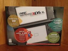 Nintendo New 3DS XL Launch Edition Black (New in Box)