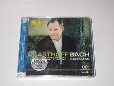 CD/SEALED NEU NEW/QUASTHOFF BACH CANTATAS/KUSSMAUL/DG 002894745052 Super Audio