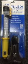 Gap Lighting Rechargeable 78 Led 60 Work light +18 Flashlight Inspection Torch