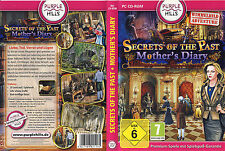 Secrets Of The Past: Mother's Diaries * Wimmelbild-Spiel * (PC, 2012, DVD-Box)