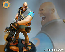 SIDESHOW GAMING HEADS TEAM FORTRESS 2 THE BLU HEAVY RESIN STATUE FIGUR NEU & OVP