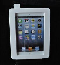 iPad mini Anti-Theft White Acrylic Stand for POS, Kiosk, Store Show Display