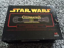 Master Replicas Obi-Wan Kenobi Star Wars LIGHTSABER .45 SW-323 Celebration III
