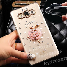 NEW Shine Bling Clear Crystal Gem Diamonds Back TPU soft shell Case Cover Skin C