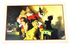 Coca-Cola Coke USA Postales Tarjeta de navidad Postales de navidad Santa 1964